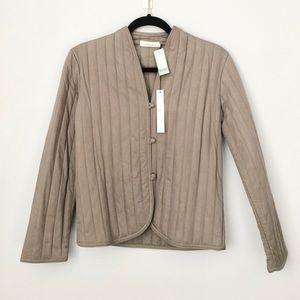 Aritzia Talula Bolton jacket in heather light grey